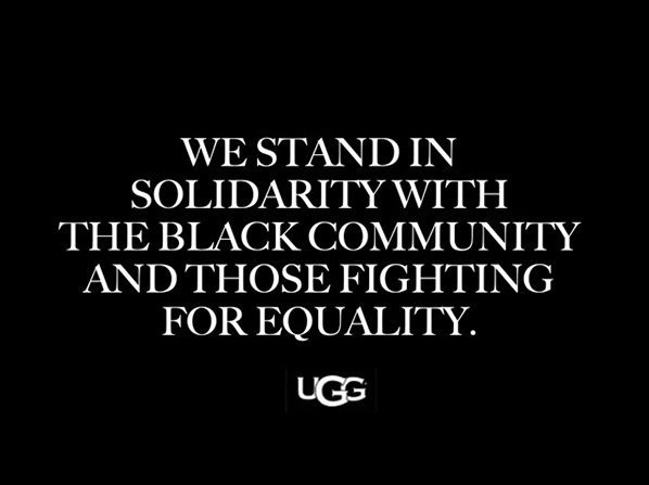 SAYING NO TO RACISM #UGGTOGETHER